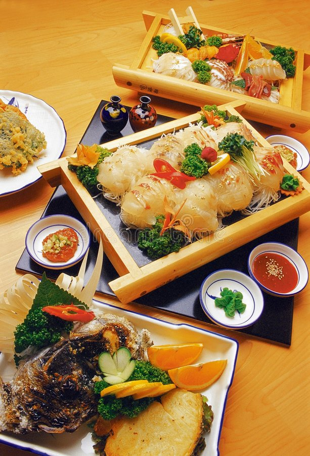 Japanese Food royalty free stock image