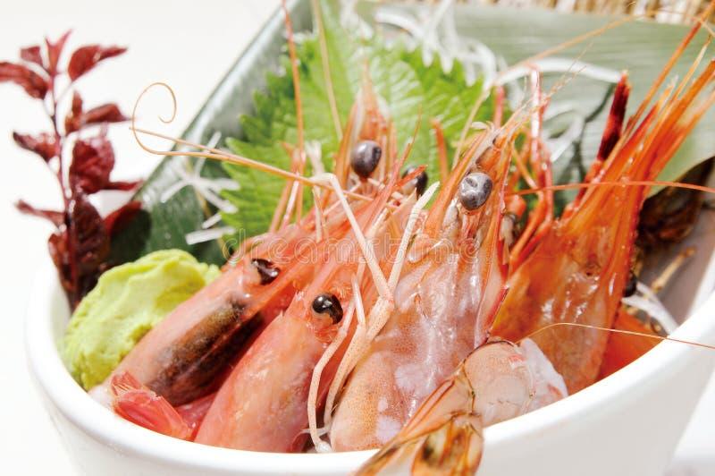 Japanese food. Japanese sashimi food on dish stock photo
