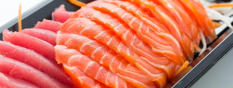 Japanese food. Close up japanese food sashimi set stock images