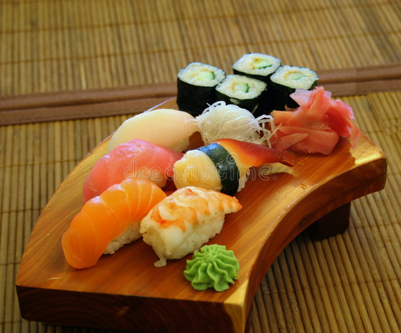 Japanese Food, Kabuki Royalty Free Stock Photo