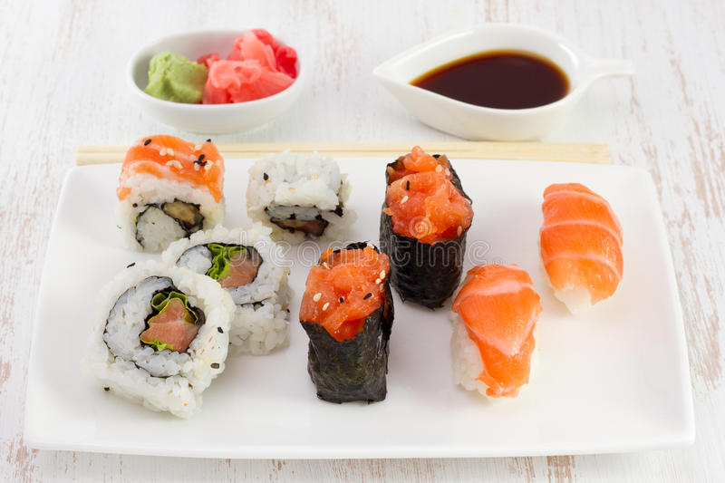 Download Japanese Food On The Plate Stock Photography - Image: 27783552