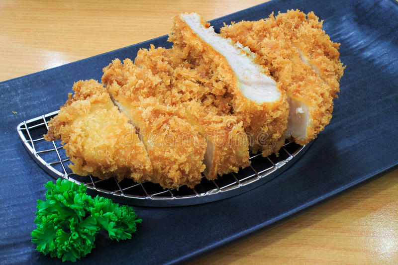Japanese food Pork fired stock images