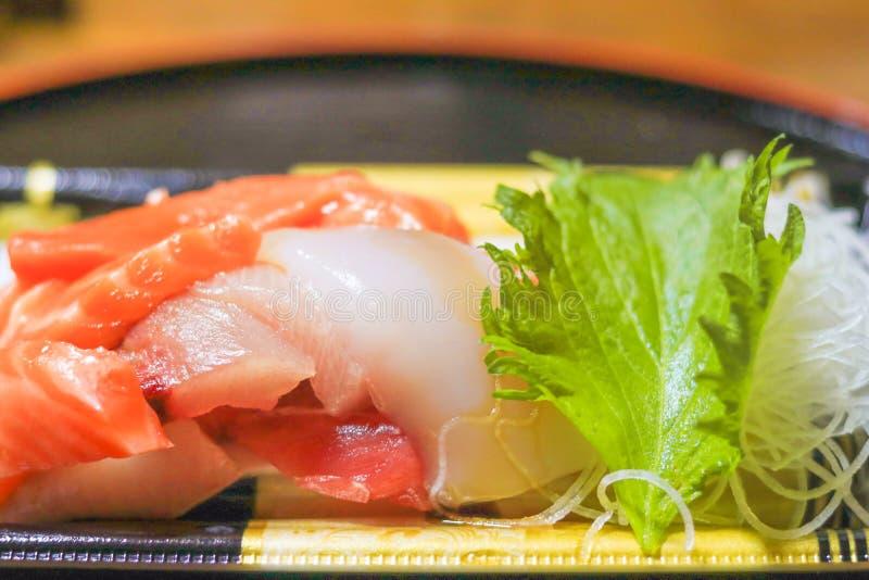 Japanese food , sashimi. Japanese cuisine stock images