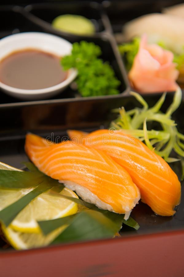 Japanese foods sushi stock photography