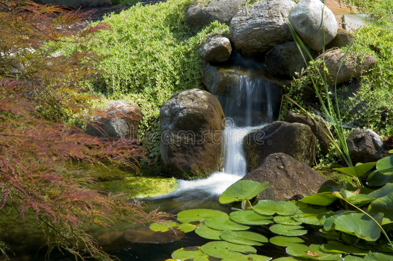Download Japanese Garden stock image. Image of lilies, nature, meditation - 1168219