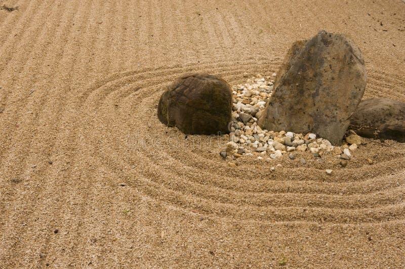 Download Japanese garden stock photo. Image of rocks, sand, japanese - 21562568
