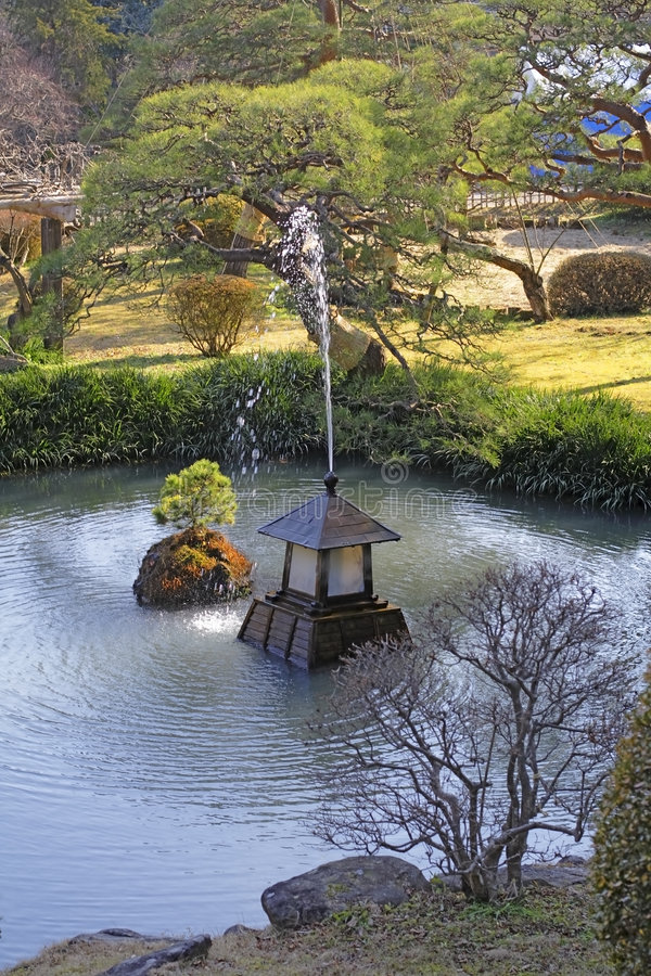 Download Japanese garden stock image. Image of culture, shiogama - 2257507