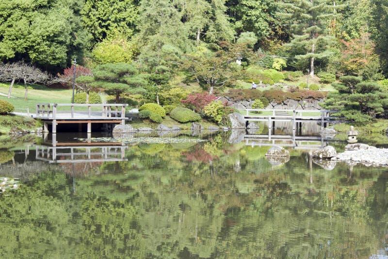 Download Japanese garden stock photo. Image of garden, reflection - 26817696