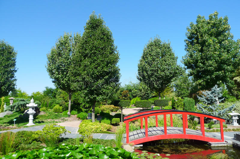 Download Japanese garden stock image. Image of beauty, lake, golden - 30498443