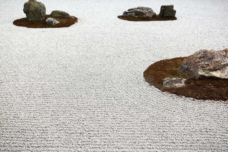 Japanese garden, Ryoan-ji Temple