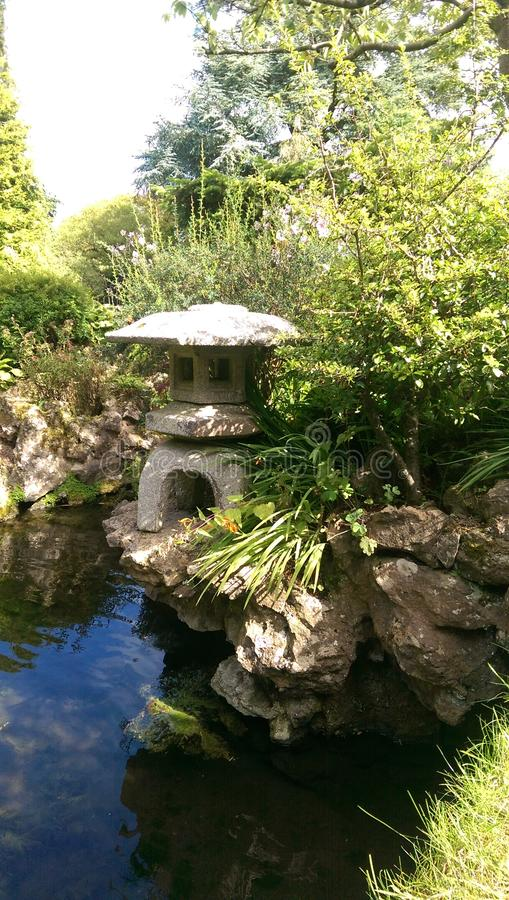 Japanese Gardens stock image