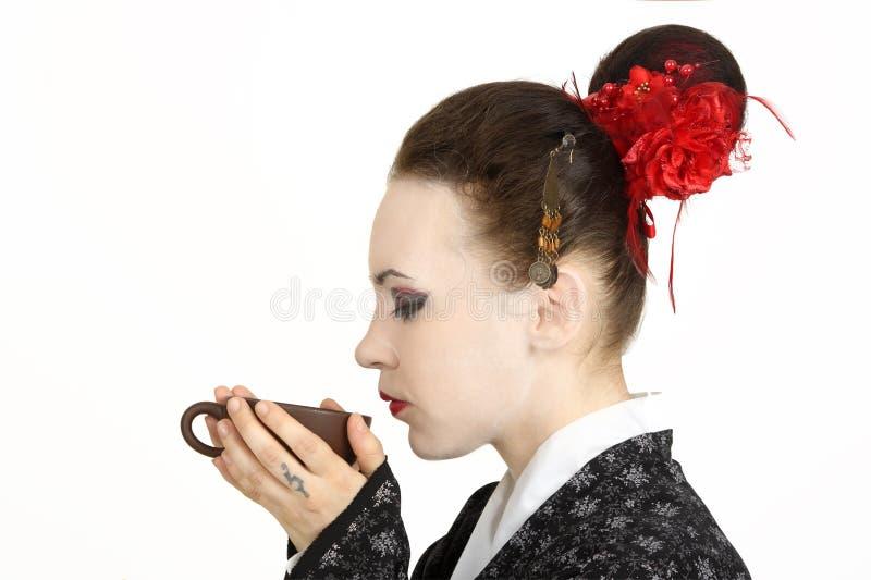 Japanese Geisha Royalty Free Stock Photo