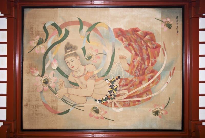 Japanese Goddess royalty free stock images