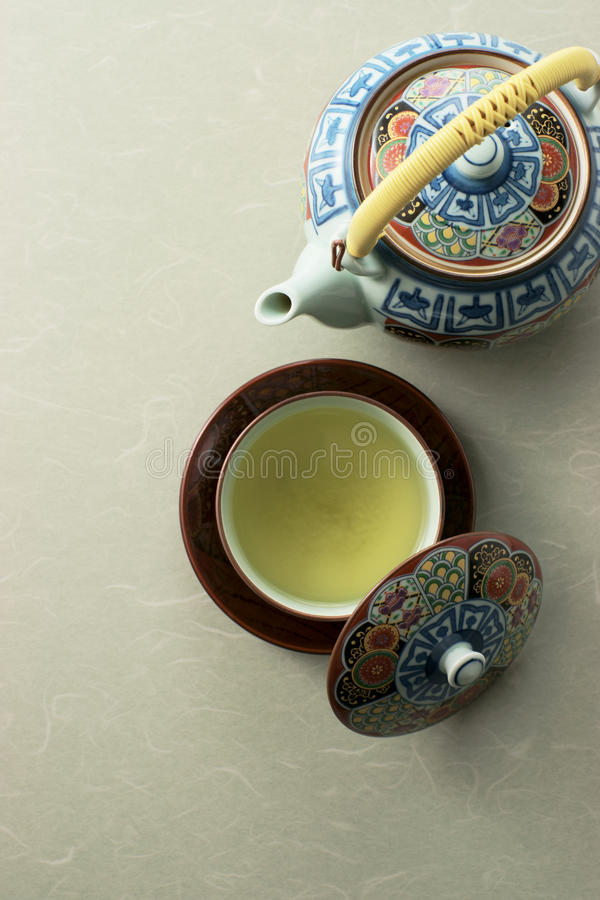 Japanese  Green Tea Royalty Free Stock Photography
