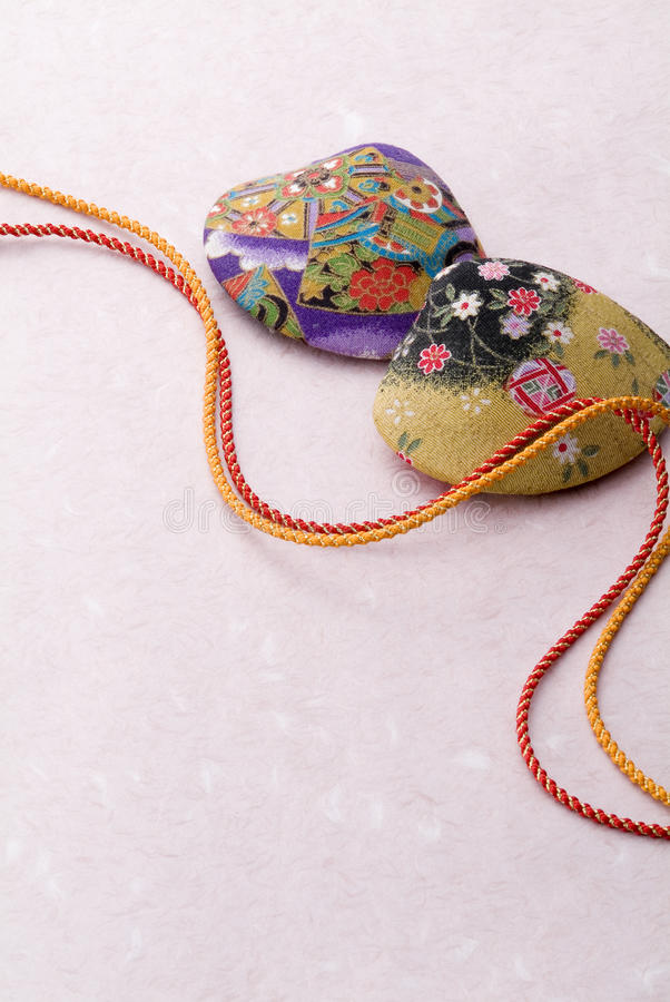 Japanese Handcraft Articles Royalty Free Stock Image