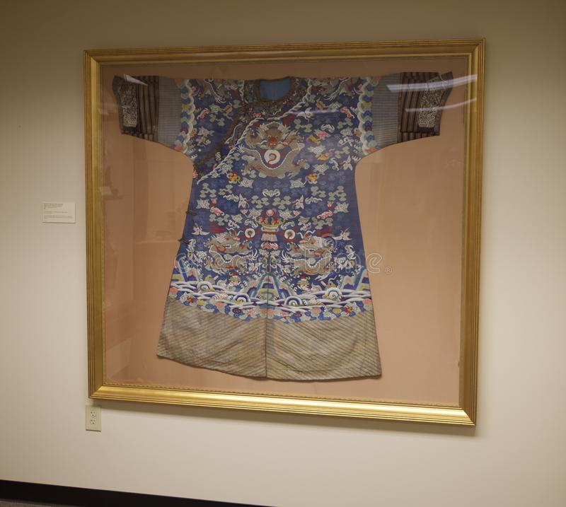 Download Japanese Kimono On Display At The Belz Museum Editorial  Photography - Image of shirt,