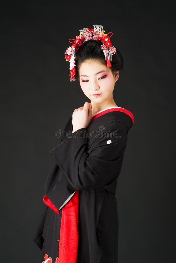 Free Japanese Kimono Girl Stock Photo - 24127710