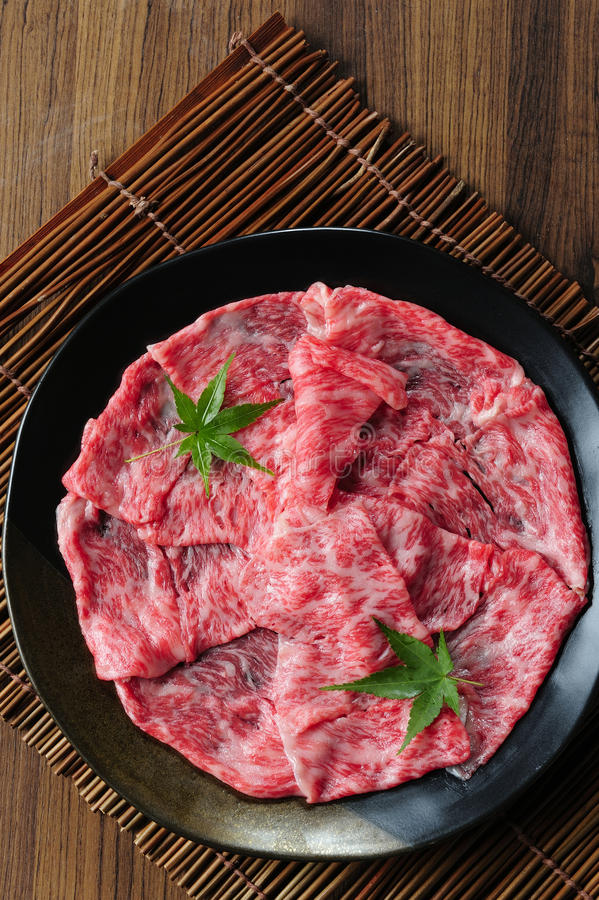 Japanese Kobe beef royalty free stock photos