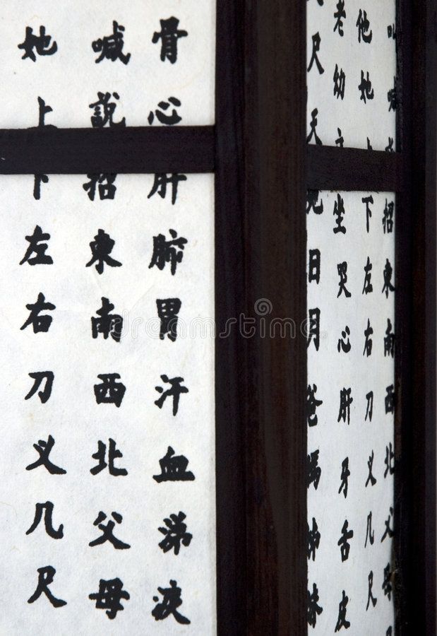 Download Japanese lantern stock image. Image of characters, illumination - 4883897