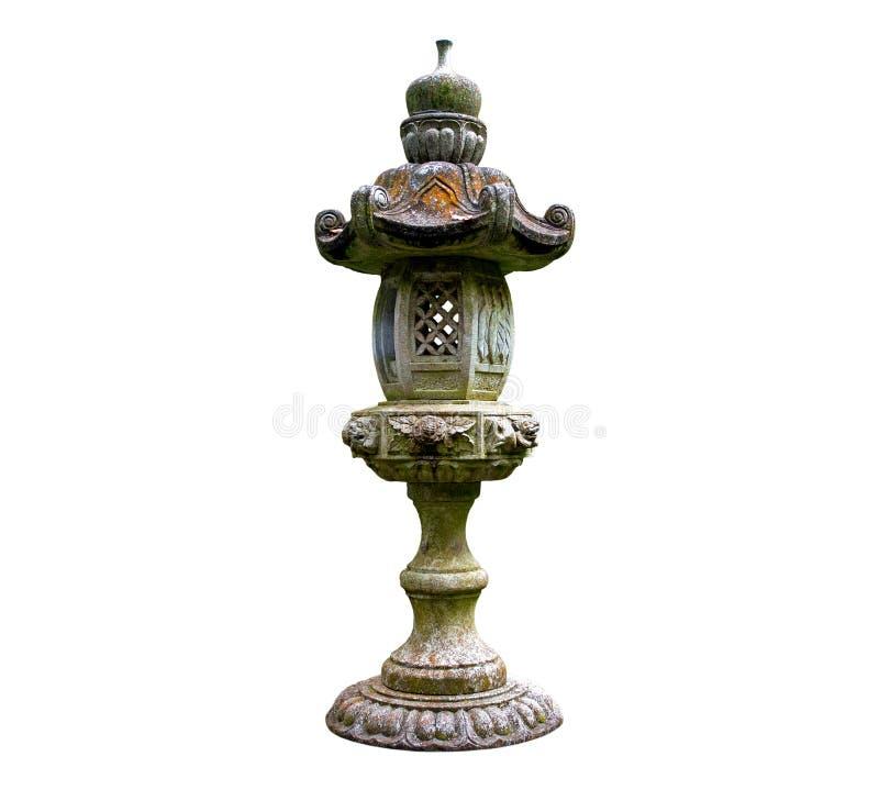 Japanese Lantern On White Background Royalty Free Stock Image