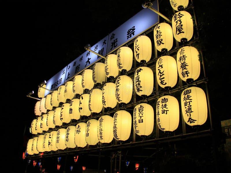 Japanese Lanterns royalty free stock images
