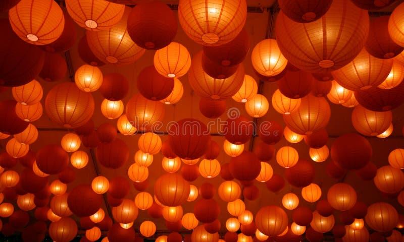 japanese lanterns στοκ φωτογραφία με δικαίωμα ελεύθερης χρήσης