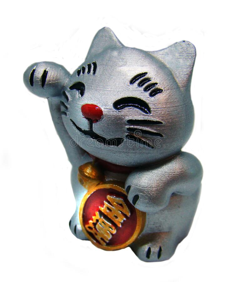 Japanese lucky cat royalty free stock images