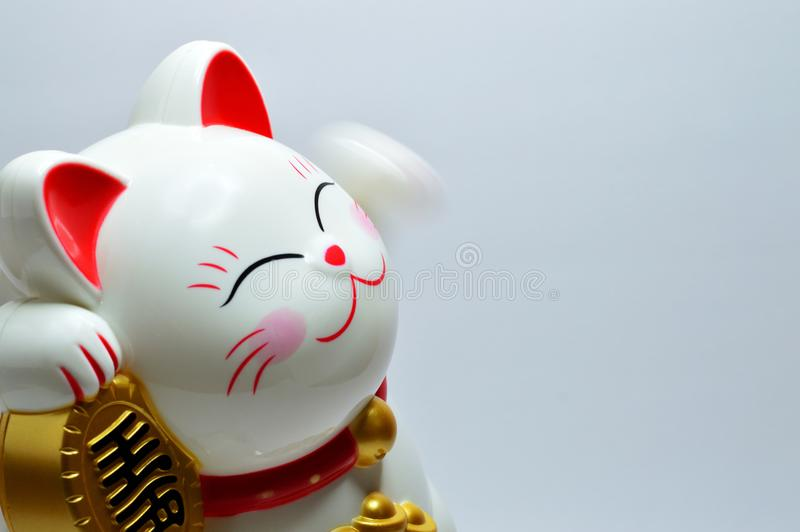 Japanese Lucky Coin Cat royalty free stock images