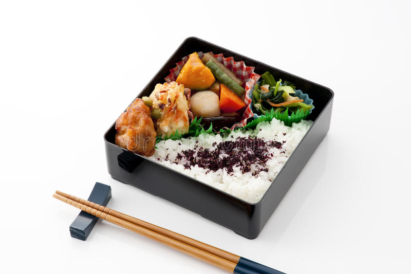 Download Japanese lunch box stock image. Image of culture, wooden - 24846021