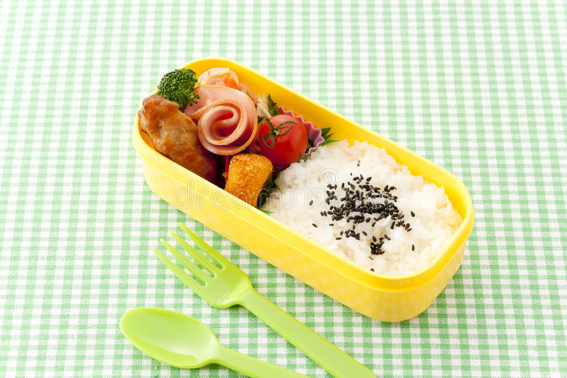 Japanese lunch box stock images