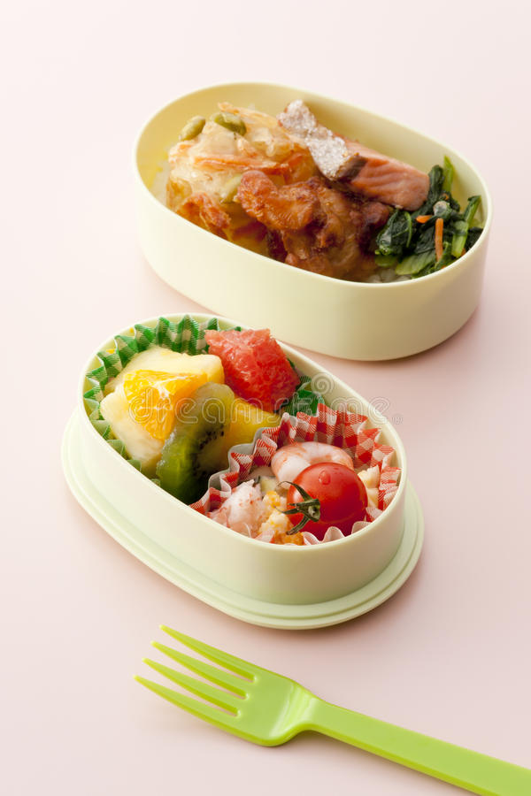 Japanese lunch box stock photo