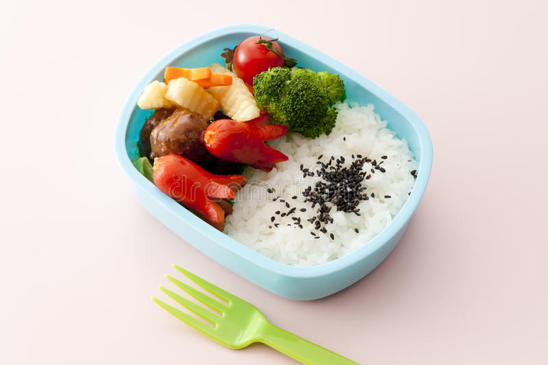 Download Japanese lunch box stock image. Image of asian, meal - 24846119
