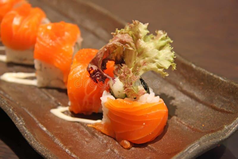 Japanese maki stock photography