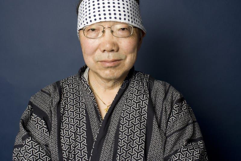 japanese man portrait senior στοκ φωτογραφία με δικαίωμα ελεύθερης χρήσης