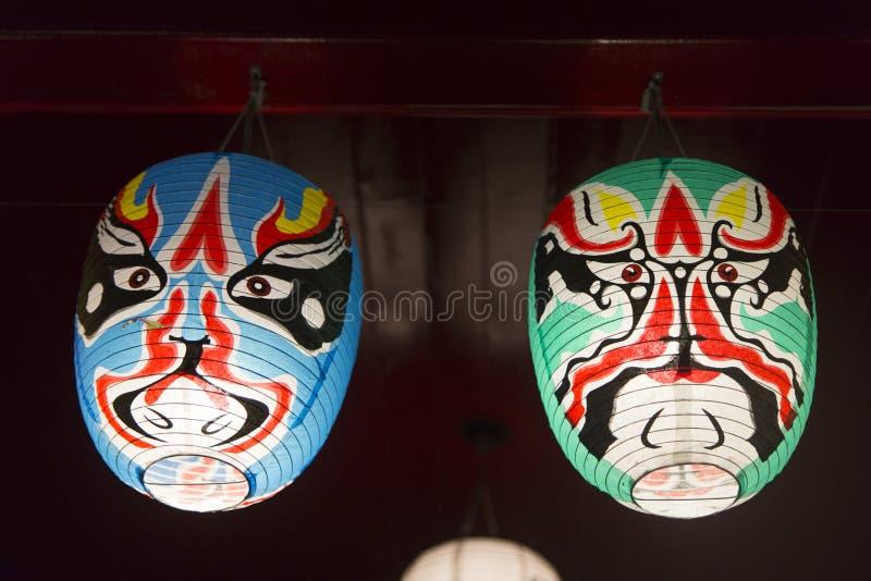 Japanese mask stock photography