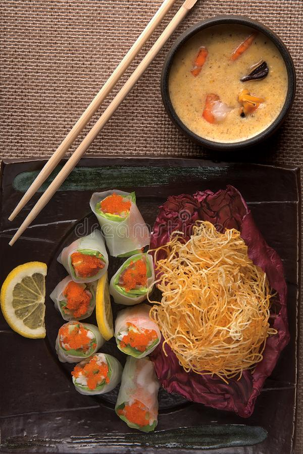 Japanese Meal Free Stock Photography