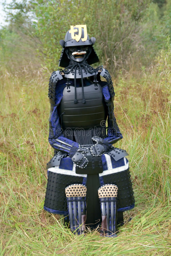 Download Japanese medieval armor stock photo. Image of armor, gusoku - 26523010