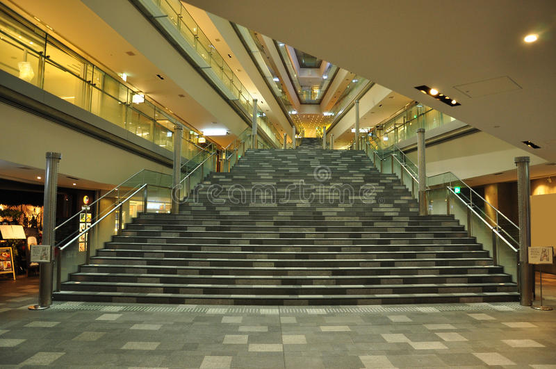 Japanese Modern Architecture, Shopping Centre Stock Photo ...