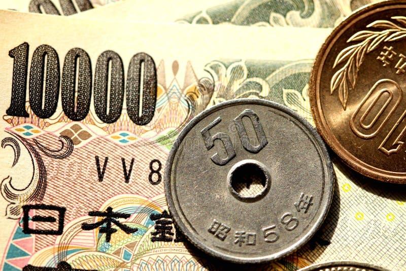 Japanese money royalty free stock photography