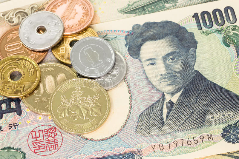 Download Japanese Money Yen Banknote And Coins Stock Image - Image of foreign, asia: 37071237