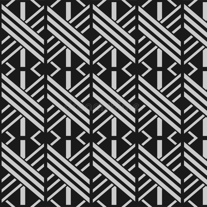 Japanese monochrome graphic pattern stock illustration