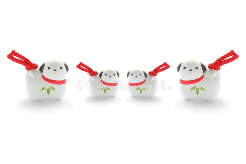 Download Japanese new year dog stock image. Image of japan, pretty - 99735277
