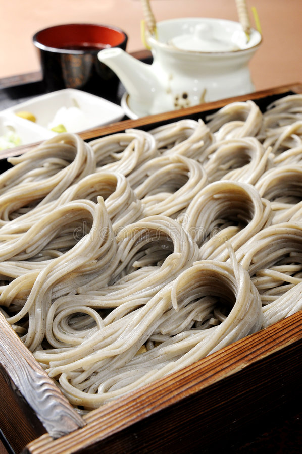 Japanese noodles royalty free stock images