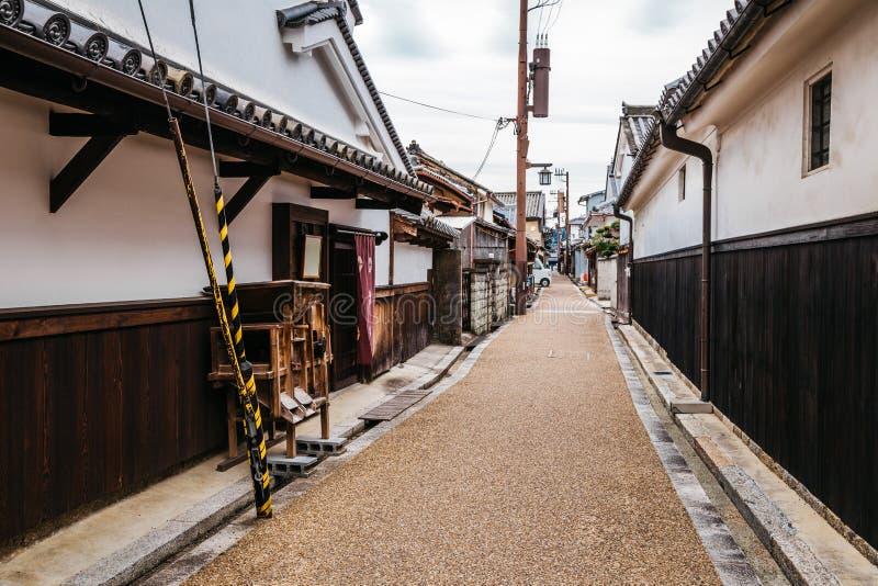 Japanese old town Imaicho in Nara, Japan royalty free stock photography