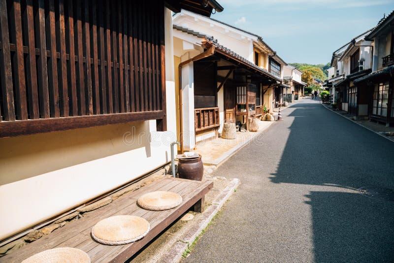 Uchiko Japanese old traditional village in Ehime, Shikoku, Japan royalty free stock image