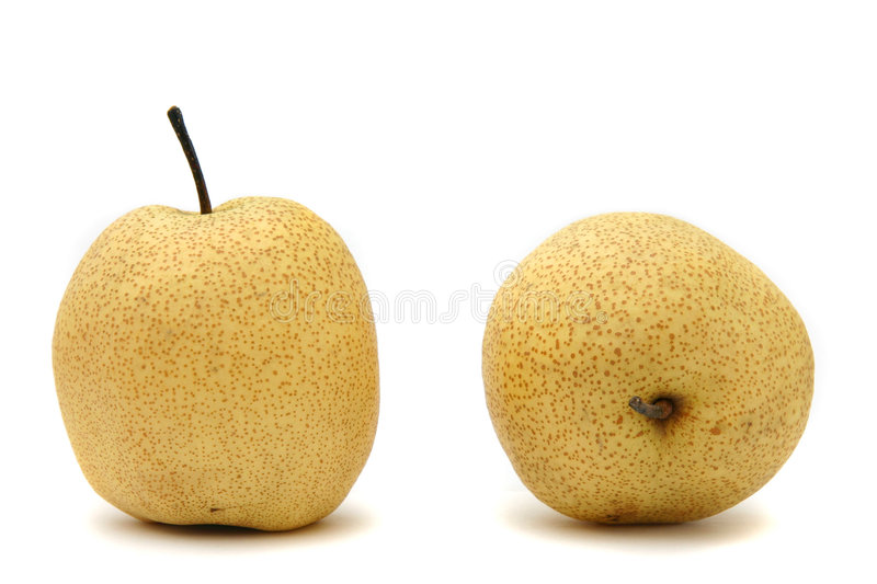 Japanese pears stock image