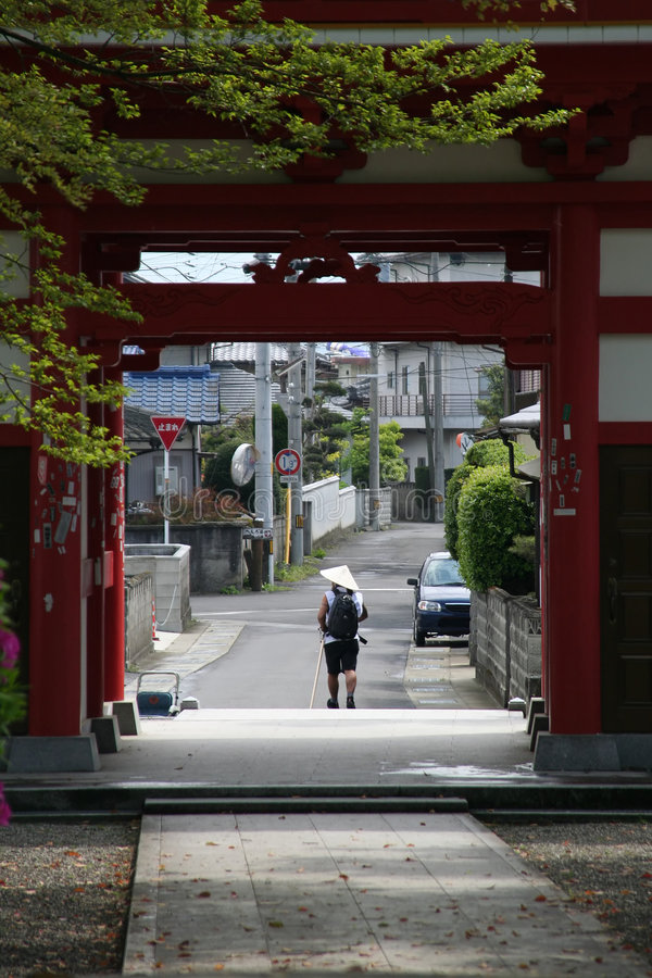 Download Japanese Pilgrimage Stock Photography - Image: 1428062