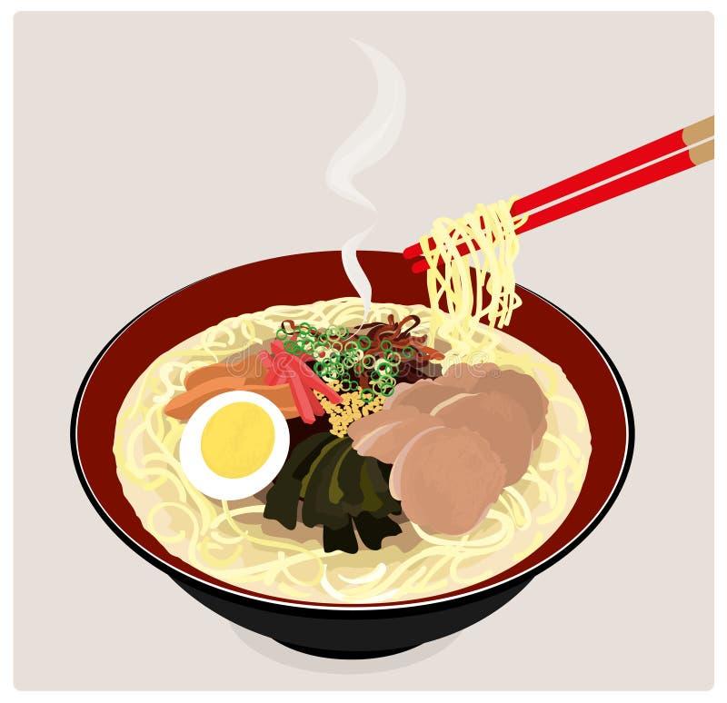 Free Japanese Ramen Noodles. Royalty Free Stock Image - 15011266