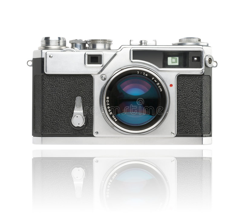 Download Japanese Rangefinder 35mm Camera Stock Image - Image: 8381641