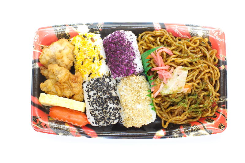 Download Japanese Ready-made Lunchbox, Bento Stock Photo - Image: 31502134